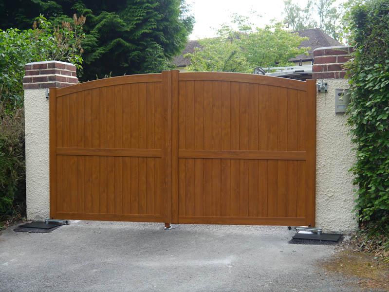 Westcountry Gates Wood Effect Gates Amp Pvc Gates In Devon